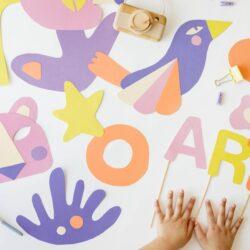 colorful artworks